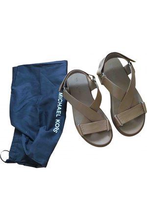 Michael Kors Men Sandals - Leather sandals