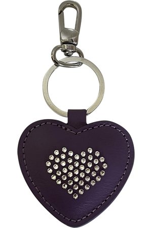 Swarovski Women Rings - Vegan leather key ring