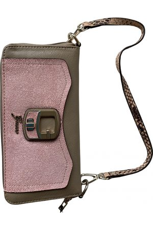 Guess Leather clutch bag