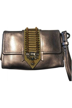 Maliparmi Leather clutch bag