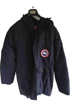 Canada Goose Navy Wool Coats