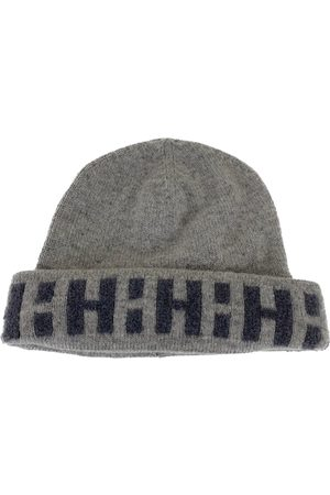 Hermès Grey Cashmere Hats & Pull ON Hats