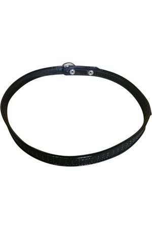 Chloé Anthracite Patent leather Belts