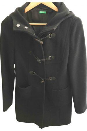 Benetton Women Trench Coats - Wool trench coat