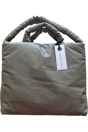 Kassl Editions Grey Cotton Handbags