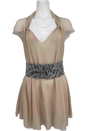 A.Lab Ecru Silk Dresses