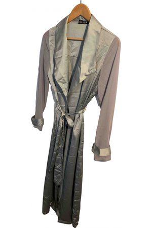MESHKI Grey Polyester Coats