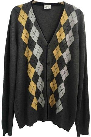 Lacoste Grey Wool Knitwear & Sweatshirts