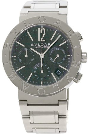 Bvlgari Grey Steel Watches