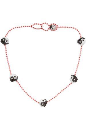 Pura Utz Beaded Yin Yang Necklace