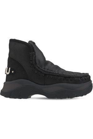 Mou Women Boots - 50mm Chunky Eskimo Sneaker Boots
