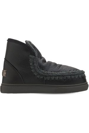 Mou 20mm Eskimo Sneaker Cracked Leather Boot
