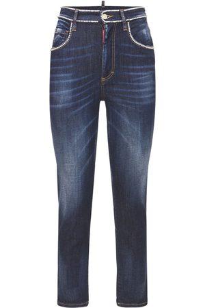 Dsquared2 Women Stretch - Twiggy Jean Stretch Cotton Jeans