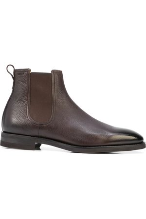 Bally Scavone leather ankle boots