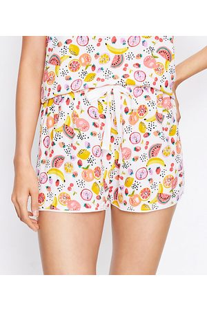 LOFT Petite Fruit Salad Pajama Shorts