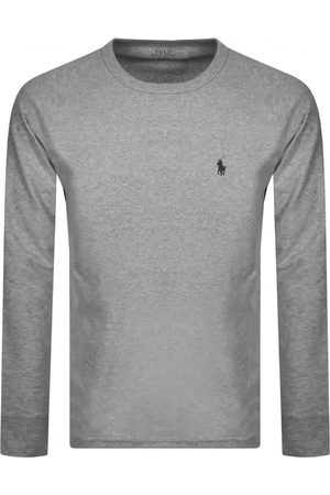 Ralph Lauren Long Sleeved T Shirt Grey