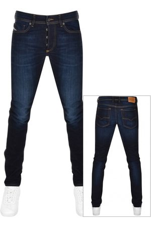 Diesel Sleenker 009EY Skinny Fit Jeans Navy