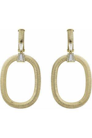 NIKOS KOULIS Feelings Tapered Diamond Drop Earrings