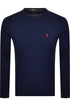 Ralph Lauren Long Sleeved T Shirt Navy