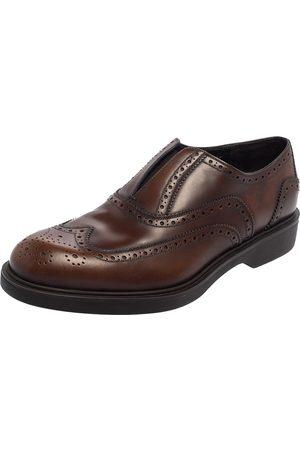 Salvatore Ferragamo Leather Brogue Oxford Size 42