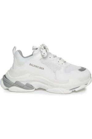 Balenciaga Triple S Sneaker White And Metal Grey