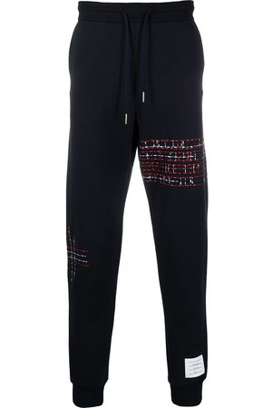 Thom Browne Embroidered track pants
