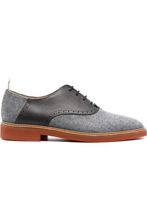 Thom Browne Panelled Derby shoes - Grey