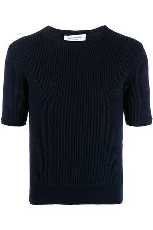 Thom Browne Crew-neck short-sleeve T-shirt