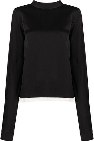 Marni Rear tie-fastening blouse