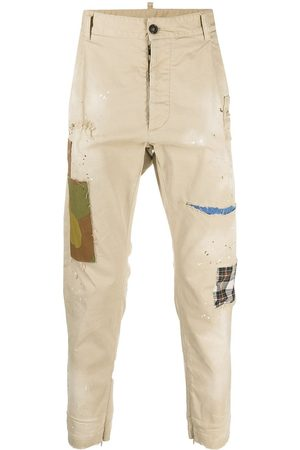 Dsquared2 Patchwork trousers - Neutrals