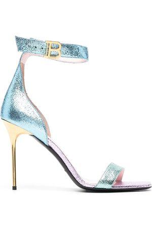 Balmain Rudie 110mm panelled sandals