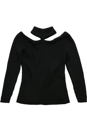 Christopher Kane Cutout shoulder knitted sweater