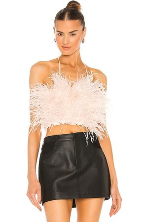 OW Intimates Feather Top in Blush.