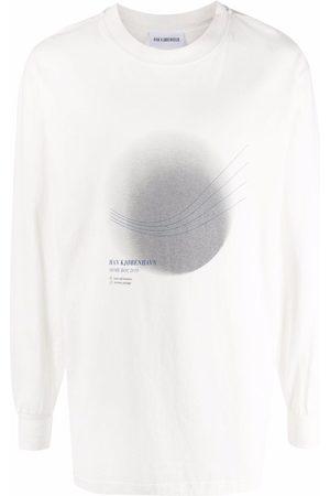 HAN Kjøbenhavn Graphic-print long-sleeved sweater