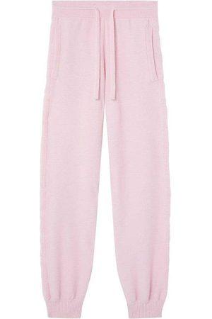 VERSACE Women Sweatpants - Greca Wool & Cashmere Sweatpants