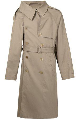 Balenciaga Trench Coats - Asymmetric-lapels trench coat
