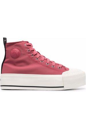 Diesel Women Platform Sneakers - S-Astico MC wedge trainers