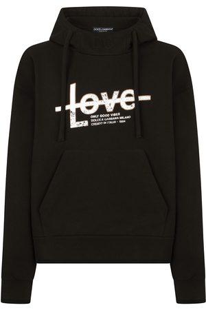 Dolce & Gabbana Slogan-print hoodie