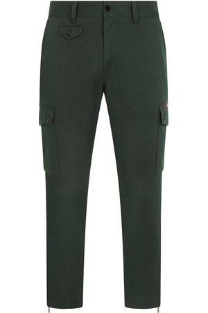 Dolce & Gabbana Stretch-cotton cargo trousers