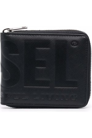 Diesel Debossed-logo wallet