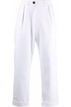 MACKINTOSH Men Chinos - Field cropped chino trousers