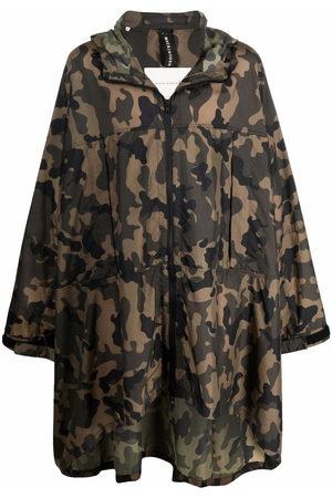 Mackintosh MIST camouflage ripstop cape