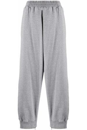 MM6 MAISON MARGIELA Side slit-detail track pants - Grey