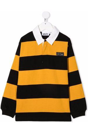 Molo Stripe-print polo shirt