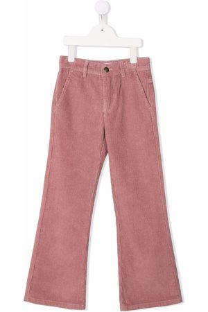 Molo Kids Corduroy straight-leg trousers
