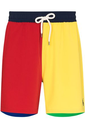 Polo Ralph Lauren Colour-block drawstring swim shorts