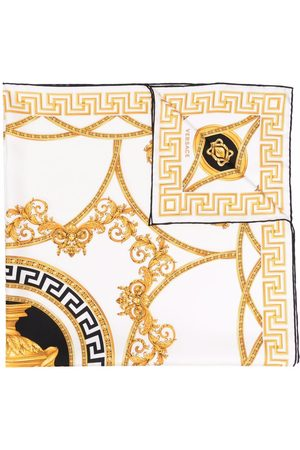 VERSACE Women Scarves - Medusa Renaissance-print foulard