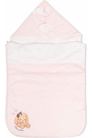 MONNALISA Logo-print sleeping bag