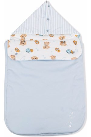 MONNALISA Bear print sleeping bag