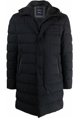 Herno Men Puffer Jackets - Padded hooded coat